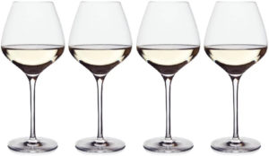 Shaped White Wine Glasses For All Types of White Win